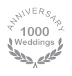 1000 weddings